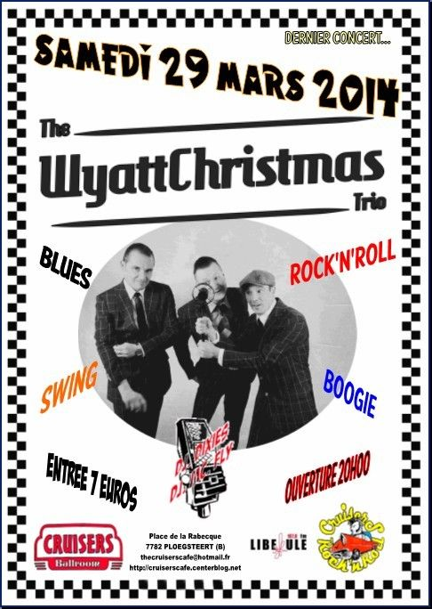 - The Wyattchristmas Trio - live at cruisers cafe