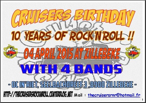 - 10 years of cruisers rock'n'roll club !! -