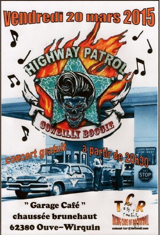"concerts ""highway patrol"""