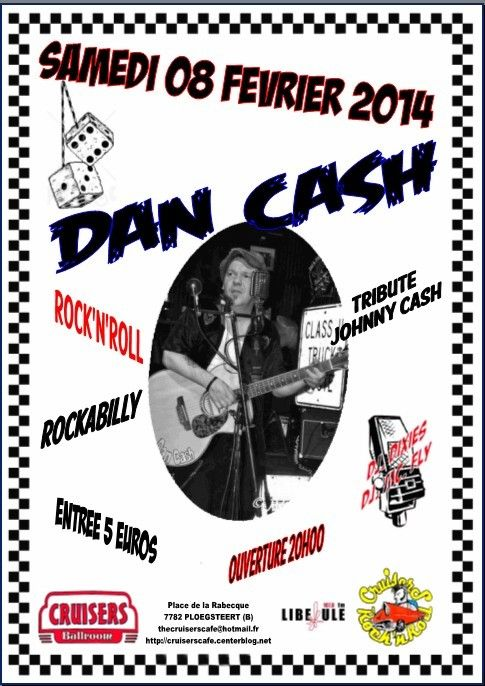 - DAN CASH - live at cruisers cafe...........
