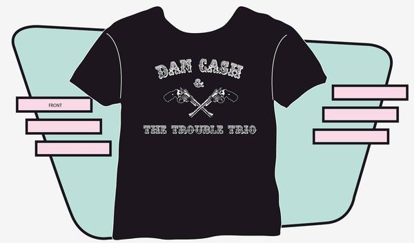 - tee shirts Dan Cash et Highway Patrol -