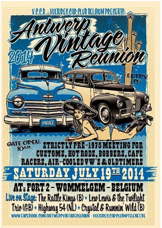 - Anvers vintage reunion 2014 -